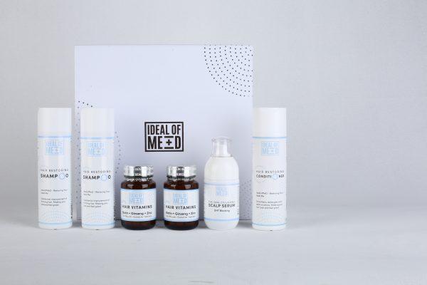 The ideal hair vitalisation box for hair loss from IdealofMeD