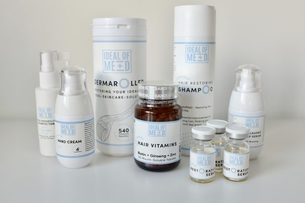 The ideal Hair Restoration Box from IdealofMeD